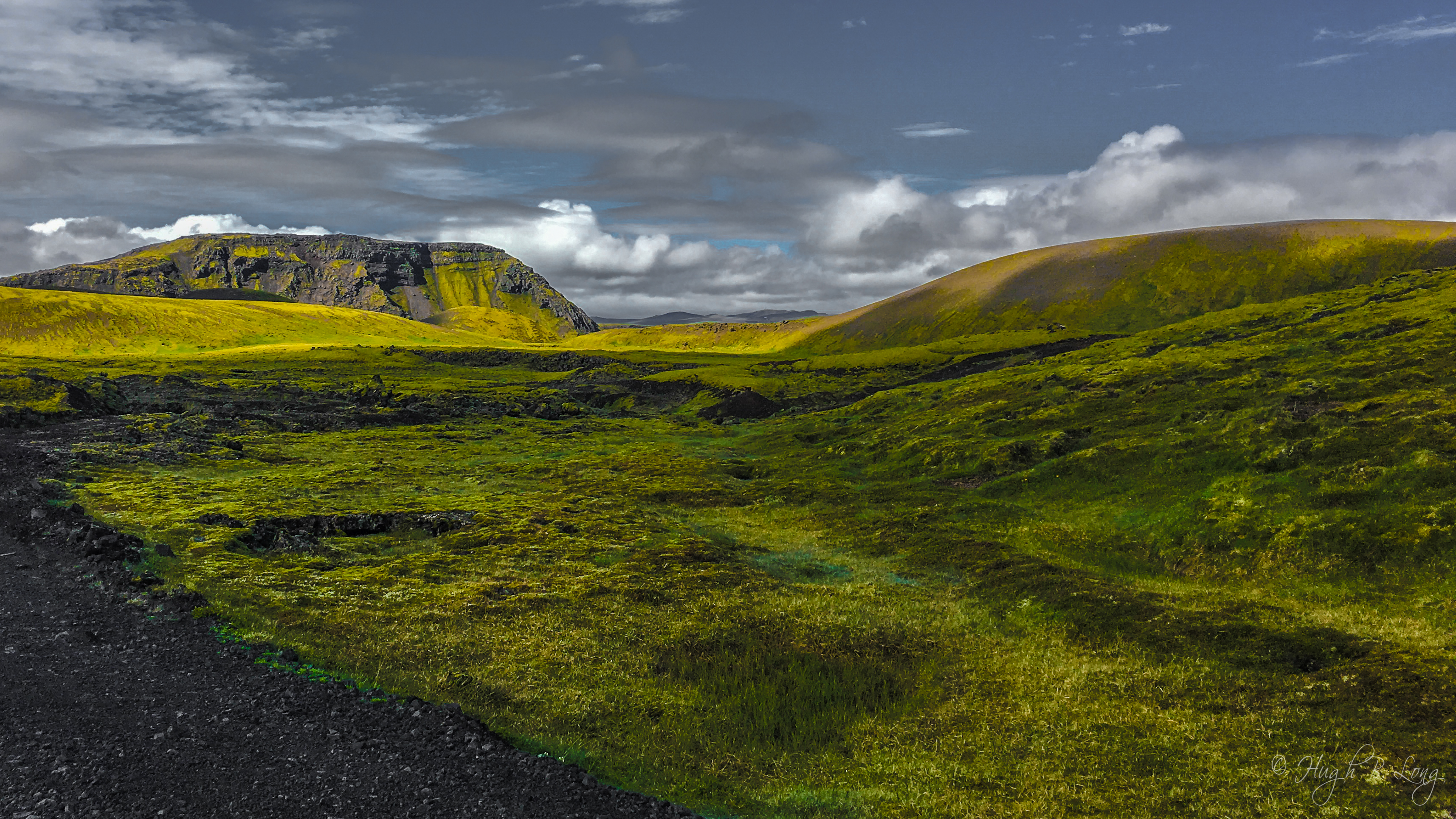 Postcards From Iceland 16 Green Hills Author Hugh B